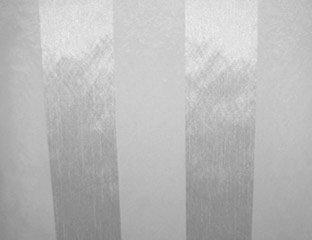 Eternity Stripe Sheer White Linen