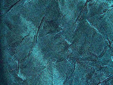 Iridescent Crush Teal Linen