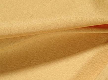 Solid Poly Gold Linen