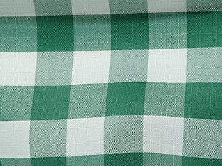 Gingham Check Hunter & White Linens