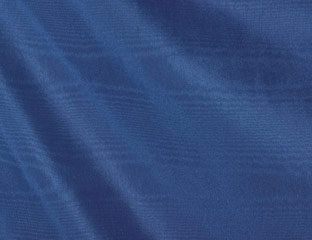 Bengaline Moire Royal Blue Linen