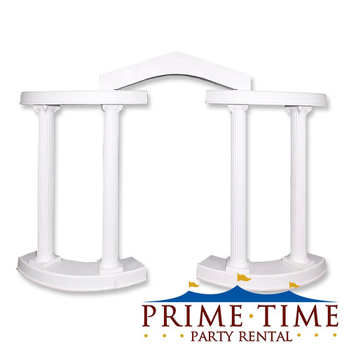 Roman Colonnade Arch Backdrop