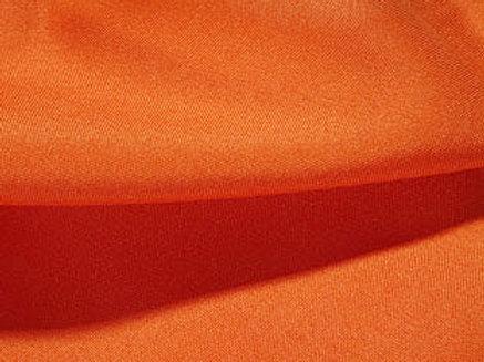 Solid Poly Orange Linen