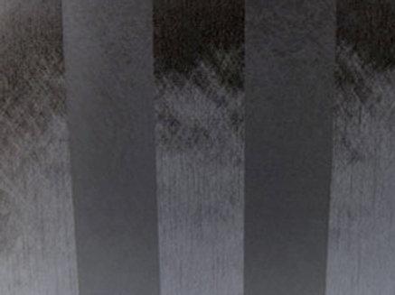 Eternity Stripe Sheer Black Linen