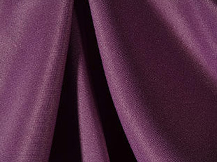 Solid Poly Claret Linen