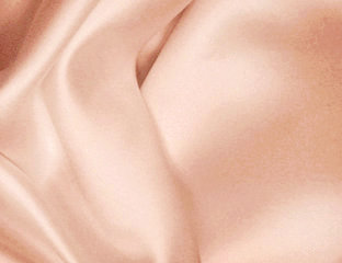 Matte Satin Peach Linens