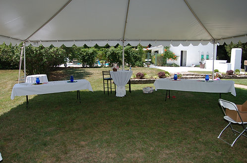 30 x 30 Frame Tent Package