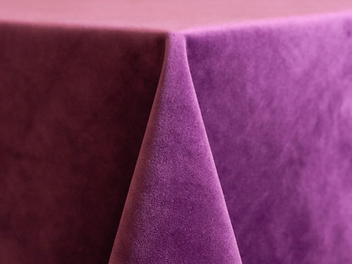 Velvet Grape Purple Linens