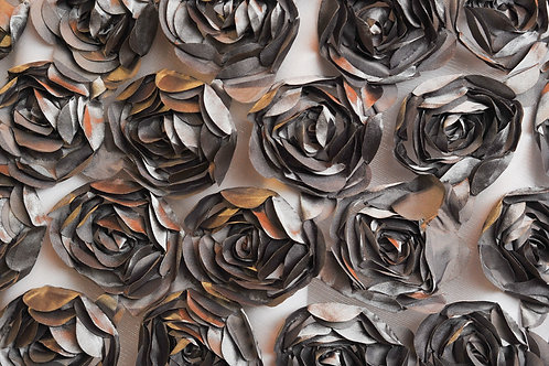 Tennessee Bloom Charcoal Linens