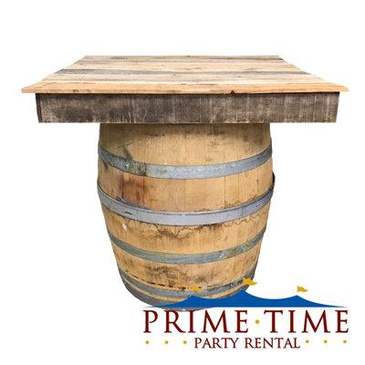 Rustic Wood Pallet Bistro Topper
