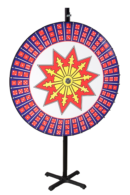 Big Six Dice Wheel 48""