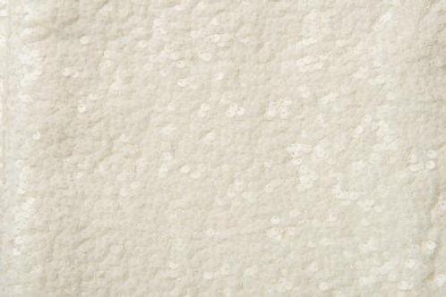 Sequin Sparkler Ivory Linen