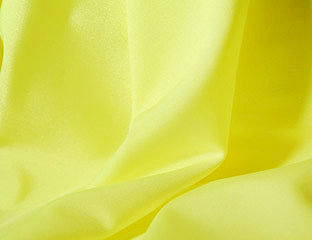 Solid Poly Neon Yellow Linen