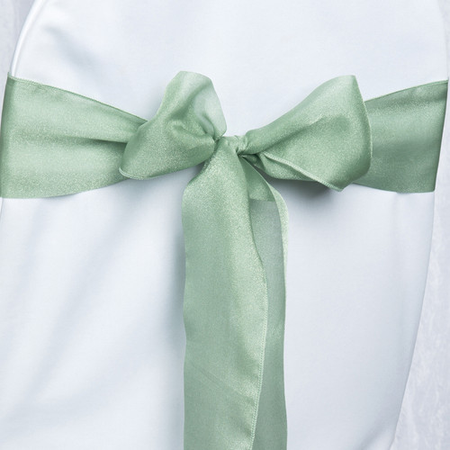 Organza Sage Chair Sash