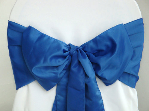 Lamour Nautical Blue Chair Sash