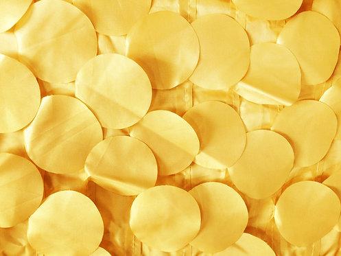 Taffeta Bubbles Canary Yellow
