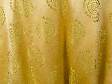 Kaleidoscope Bubble Wheat Linen