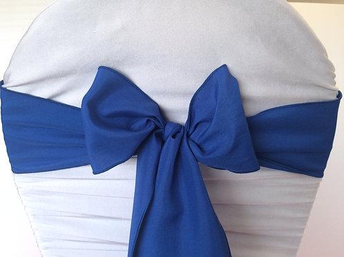 Poly Royal Blue Chair Sash