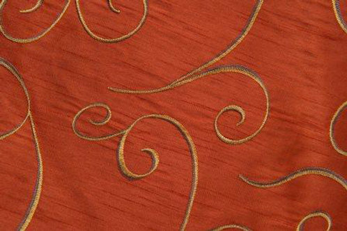 Nova Swirl Copper Linen