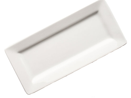 Rectangular White Plate