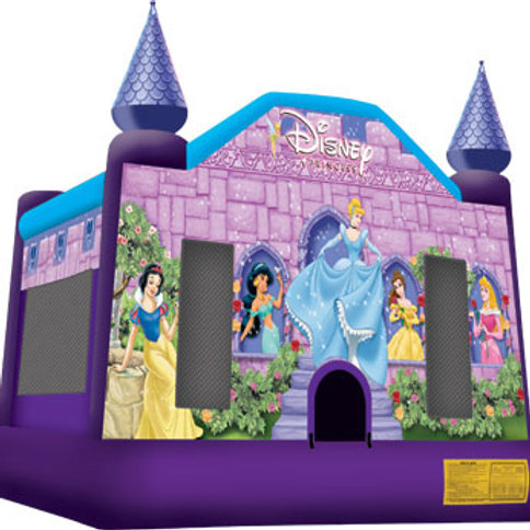 Disney Princess Castle Bounce House 13x13