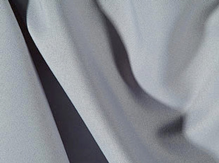 Solid Poly Grey Linen