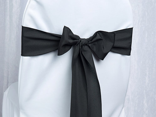 Poly Black Chair Sash