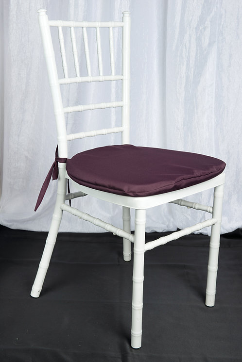Eggplant Chair Pad