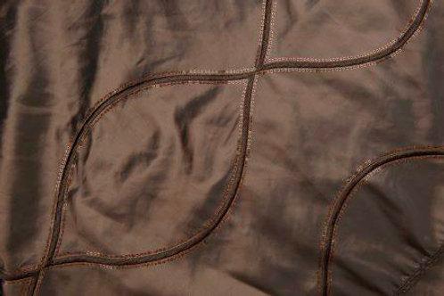 Helix Taffeta Brown Linen