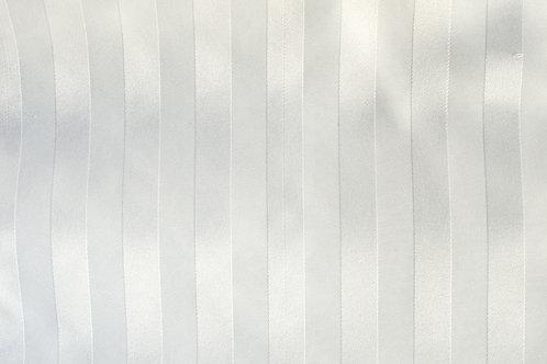 Poly Stripe White Linen