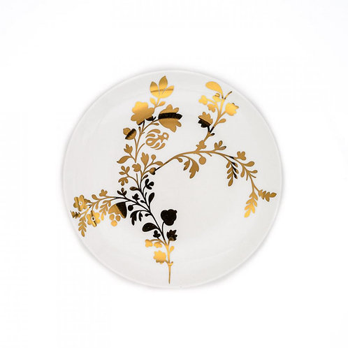 Tabitha Gold Accent Plate