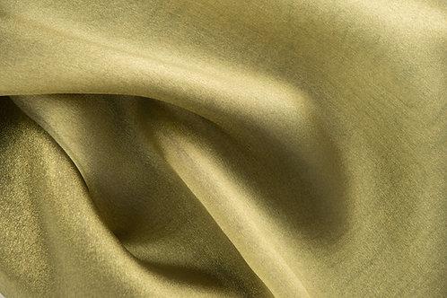 Shimmer Organza Gold Olive Linens