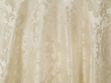 Beethoven Ivory Damask Linen
