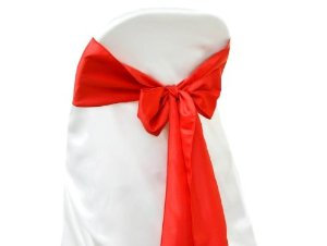 Lamour Red Chair Sash