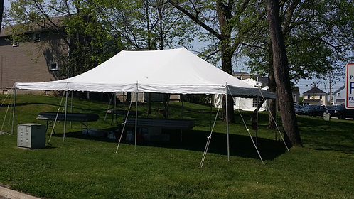 20 x 30 Frame Tent Package