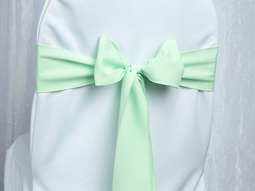 Poly Mint Chair Sash