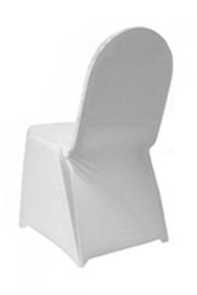 White Spandex Chair Cover