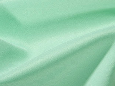 Solid Poly Mint Linen