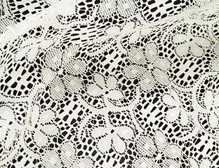 Ivory Lace Linens