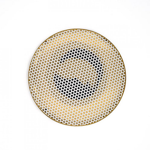 Dottie Gold Accent Plate