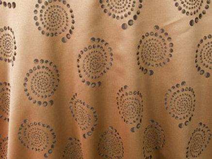 Kaleidoscope Bubble Khaki Linen