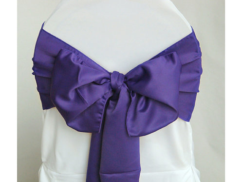 Lamour Orchid Chair Sash
