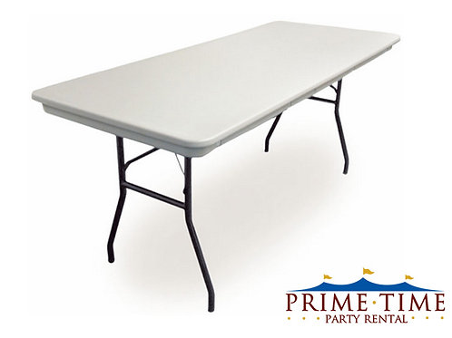 8' Poly Banquet Table