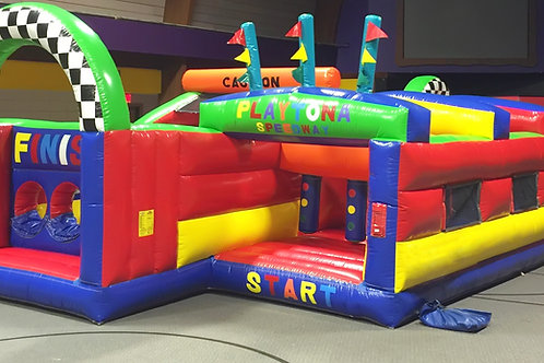 Runt Run Inflatable Obstacle Course