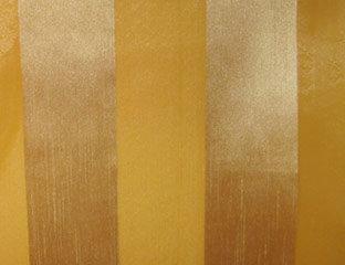 Eternity Stripe Sheer Gold Linen