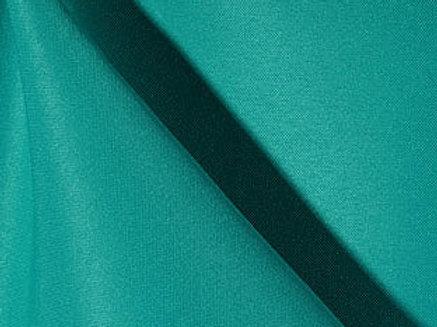 Solid Poly Jade Linen