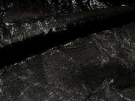 Iridescent Crush Black Linens