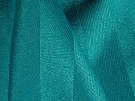 Poly Stripe Teal Chair Sash