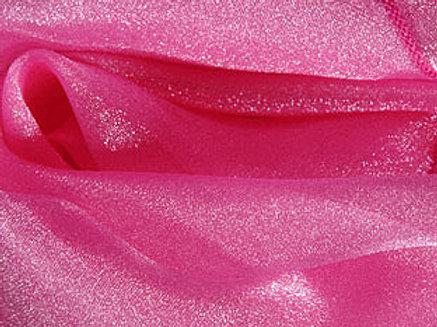 Sparkle Organza Raspberry Linens