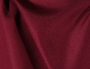 Solid Poly Burgundy Linen